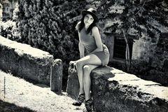 Ritratto nell'antico borgo dei Corrieri postali
