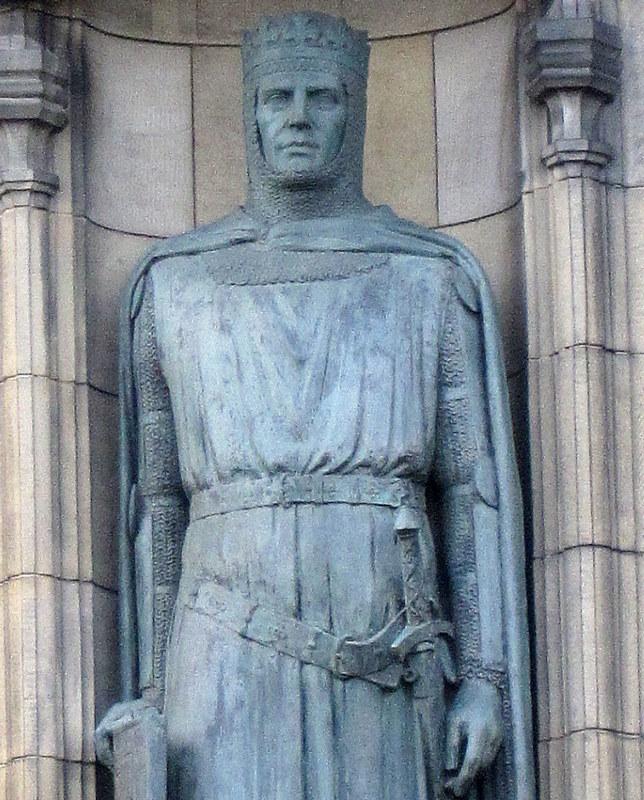 Ritter Eingang Edinburgh Castle