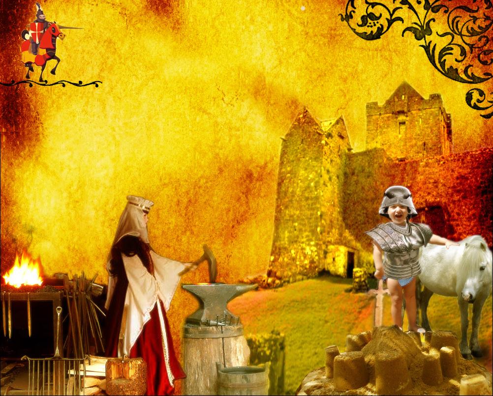 Ritter Fips und seine zwei Burgen