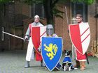 Ritter mit Hund
