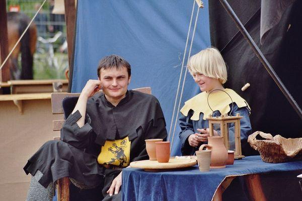 Ritter und Knappe