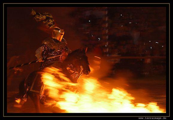 Ritter und Pferd ohne Furcht und Tadel