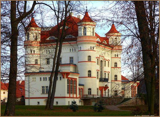 Rittergut  Wojanow, heute Hotel Palac Wojanow