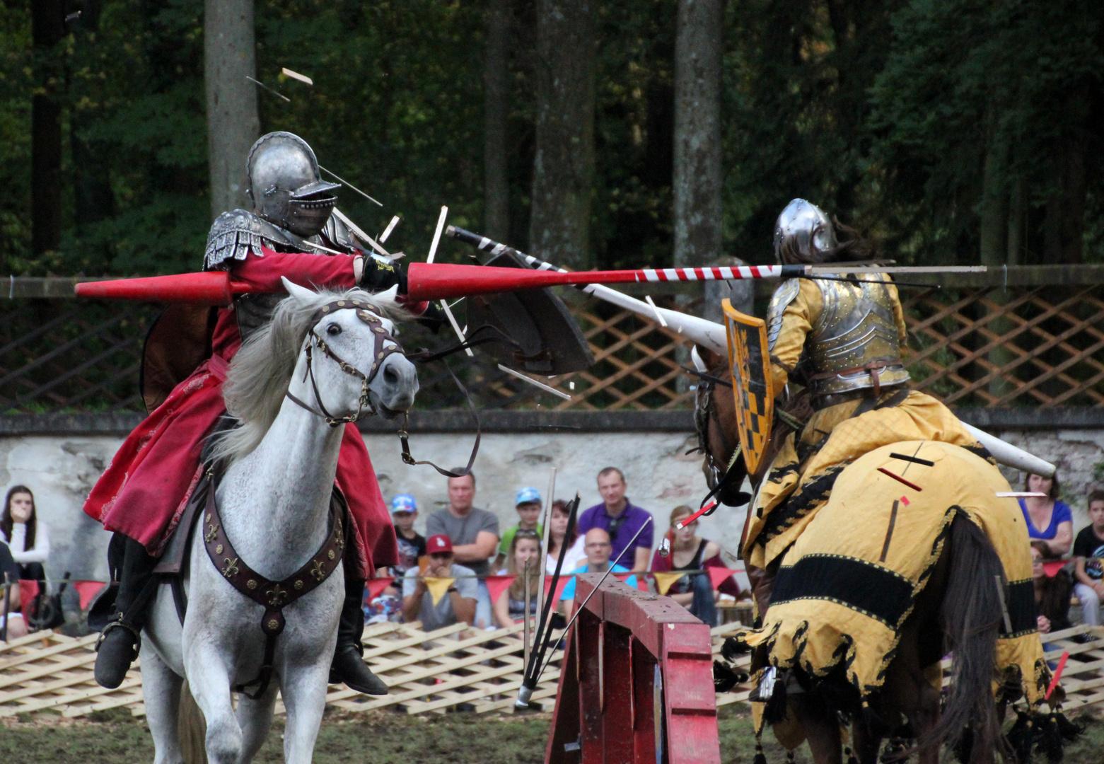 Ritterlicher Tjost