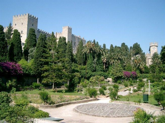 Ritterpalast in Rhodos Stadt