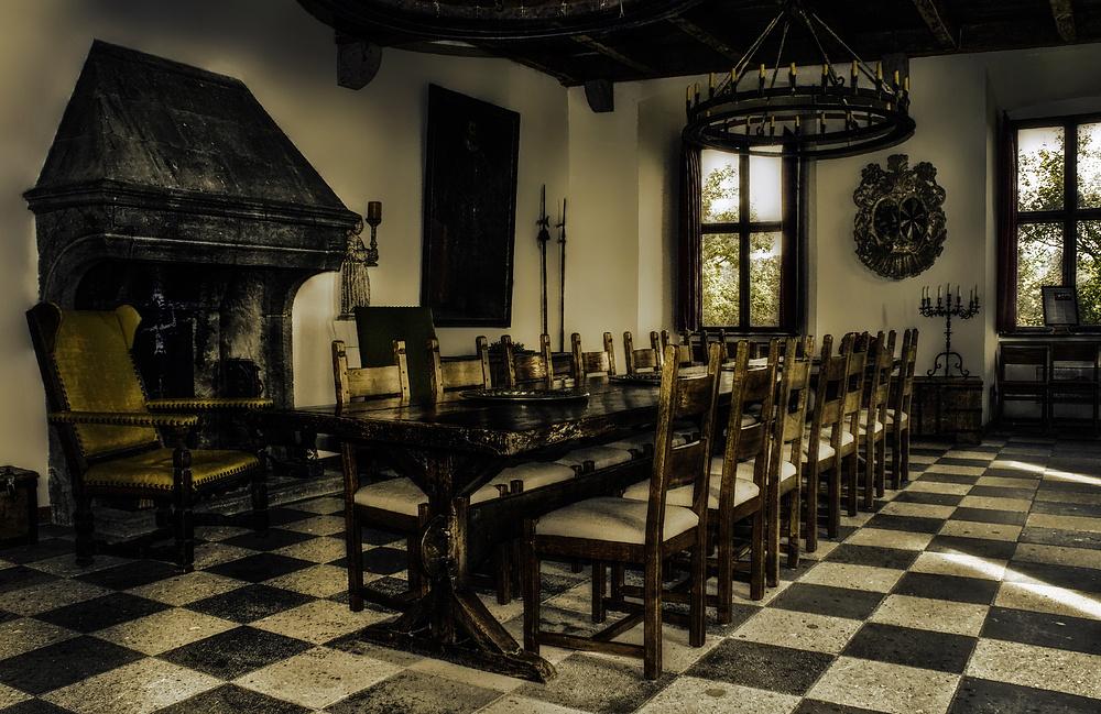 Rittersaal auf Burg Pyrmont