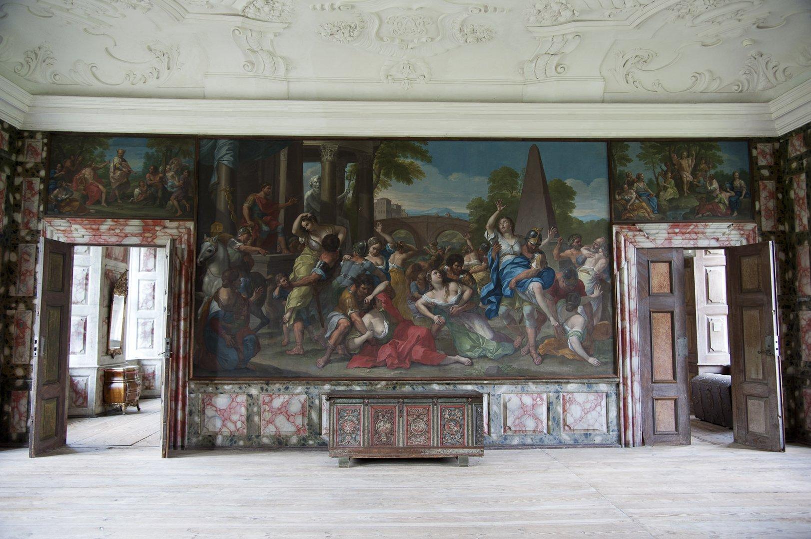 Rittersaal auf Schloss Selsoe