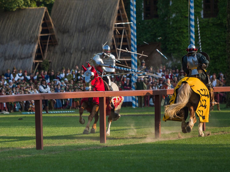Ritterspiele auf der LaHo 2013