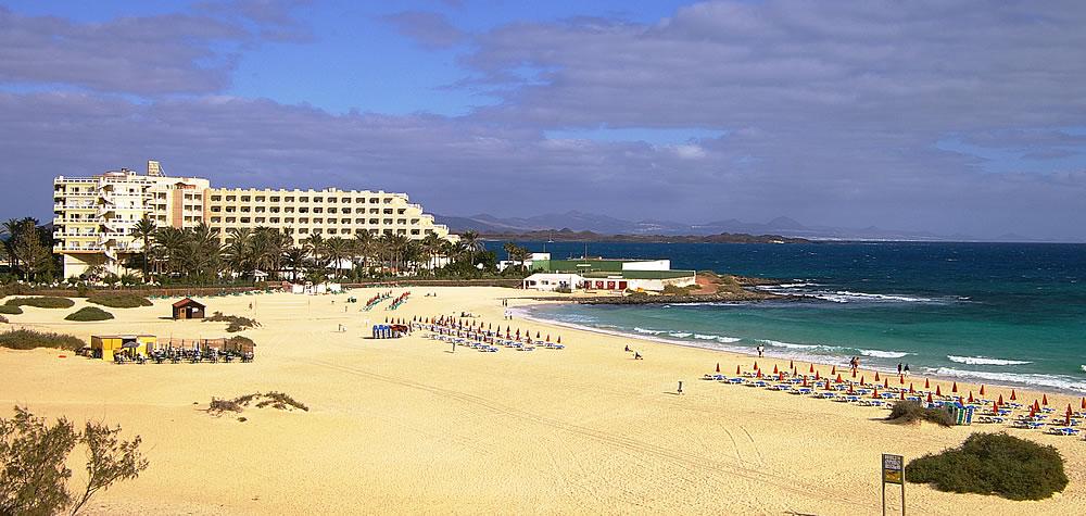 Riu Olivina, Playa de Coralejo, Fuerteventura Richtung Lanzarote