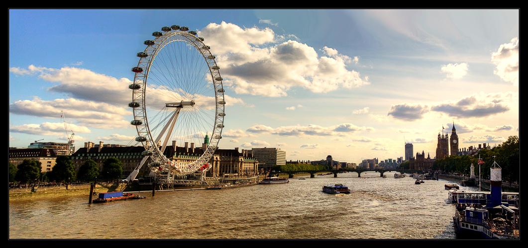 river thames - london eye