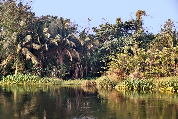 RiverKwai südlich von Kanchanaburi