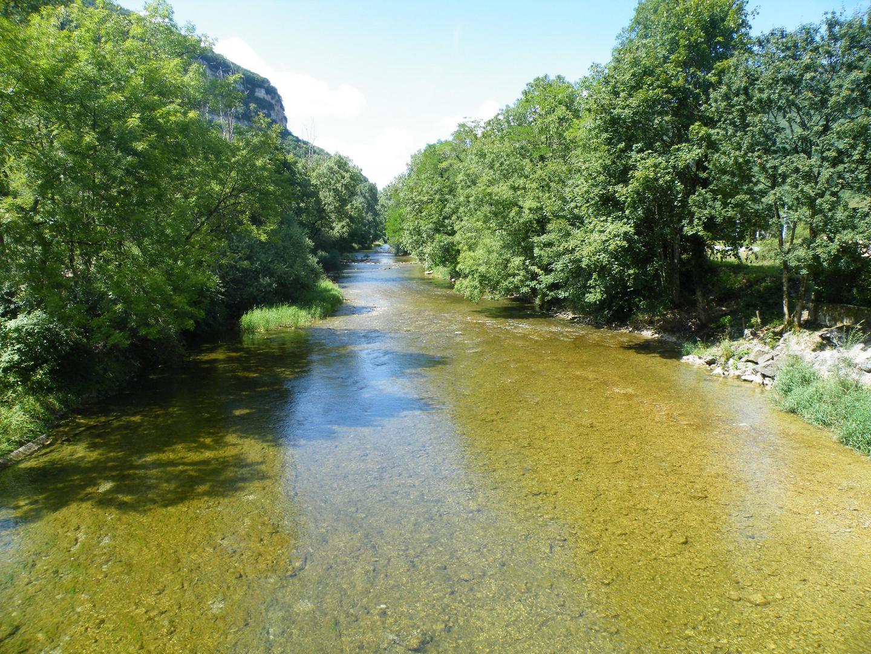 riviere calme