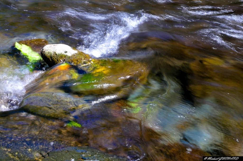 riviere et vitesse lente