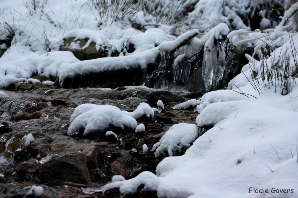 Rivière glacée