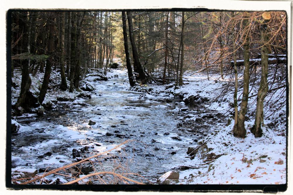 rivière hivernale!