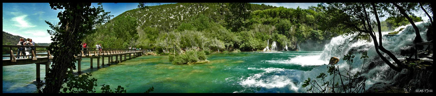 Rivière Krka, Croatie