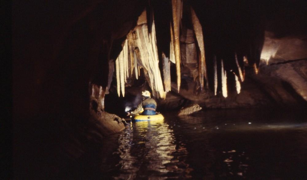 """rivière souterraine """"La Blaquière"""" en première..."""