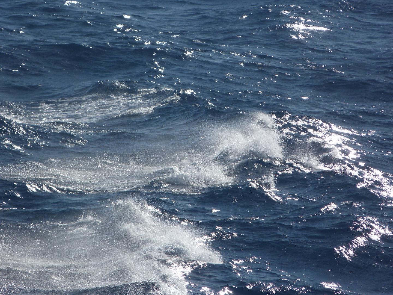 rizando una ola