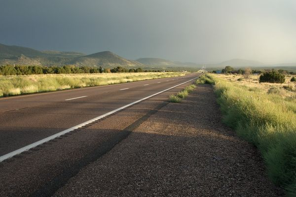 Road from Grand Canyon