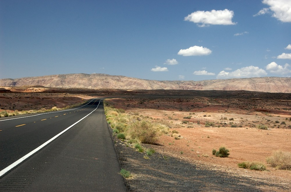 Road next to Grand Canyon