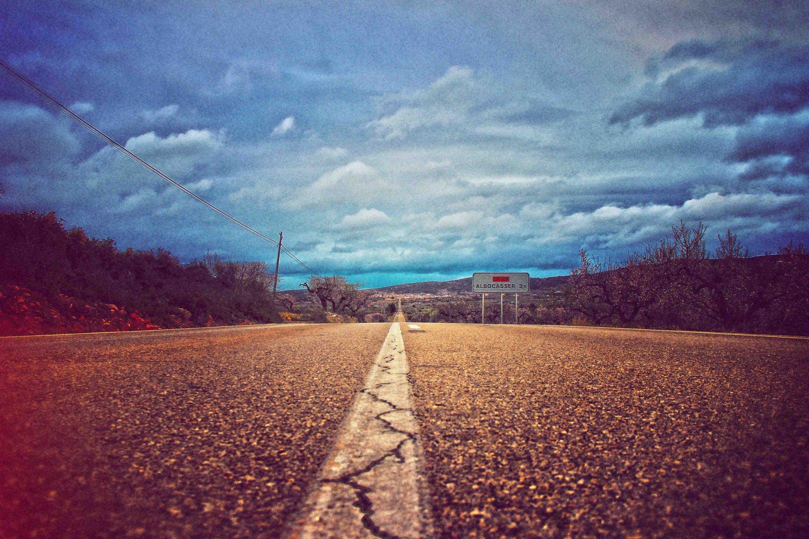 Road to Albocasser