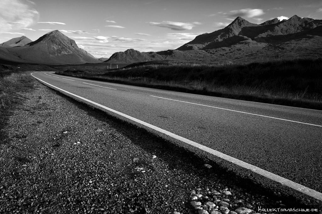 Road to Cuillin Hills