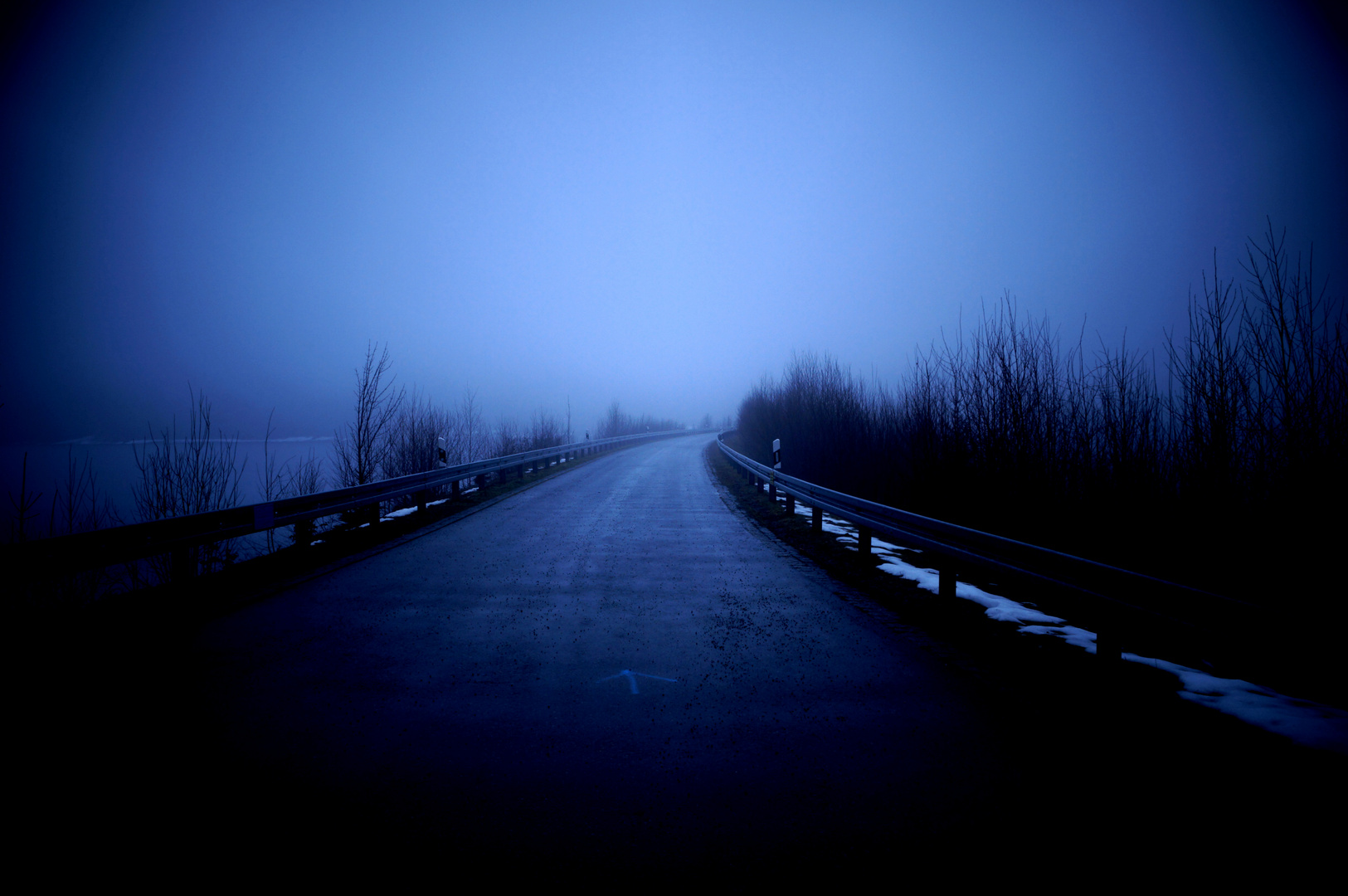 Road to nowhere ..
