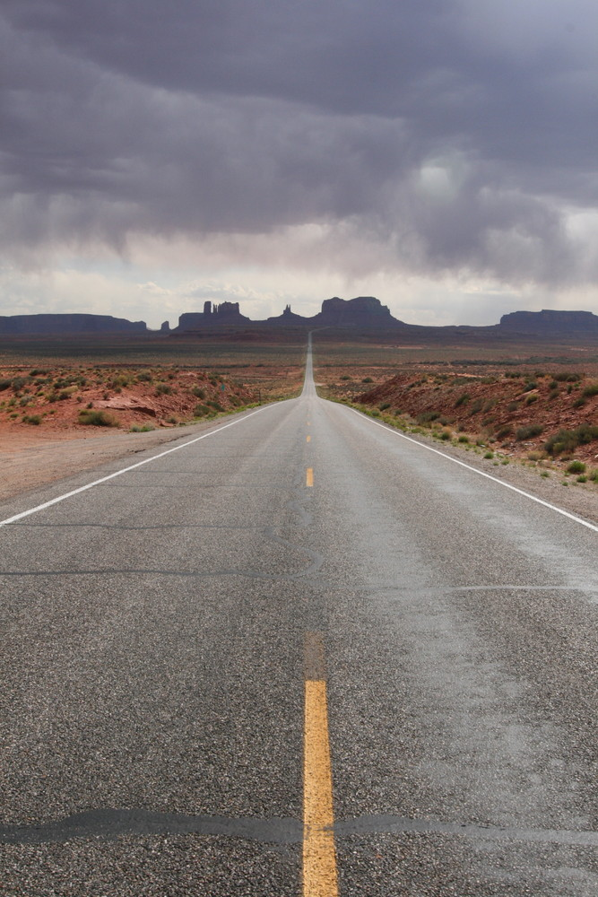 Road to/from Monument Valley