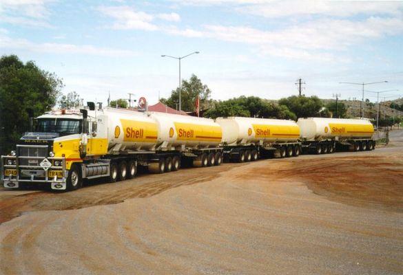 Road - Train in Alice Springs