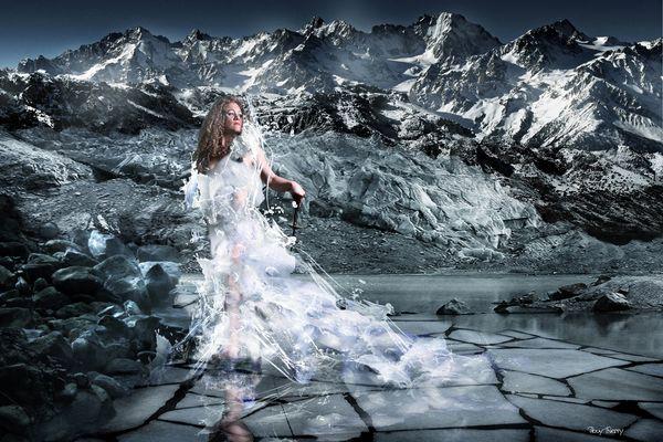 robe de glace