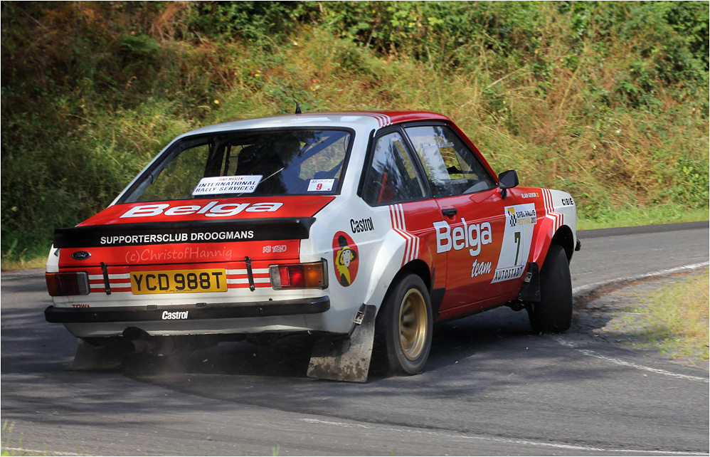 Robert Droogmans - Ford Escort BDA - Eifel Rallye