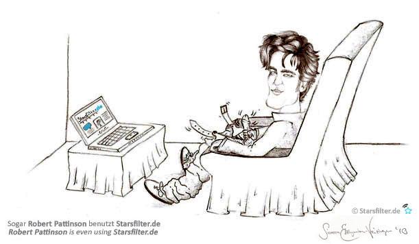 Robert Pattinson und Starsfilter
