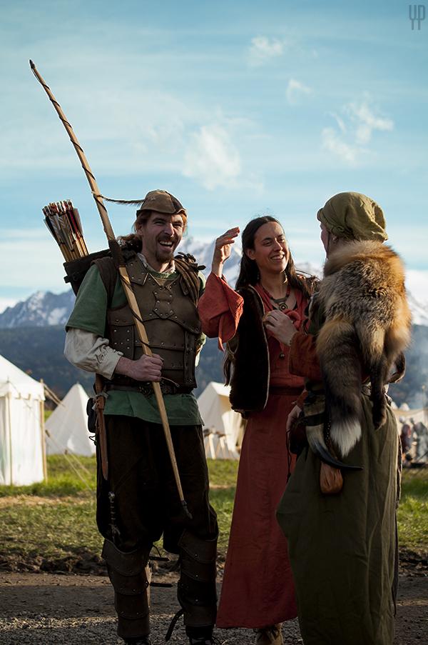 Robin Hood hat gut zu lachen bei Des holden Weibes schöner Scheins