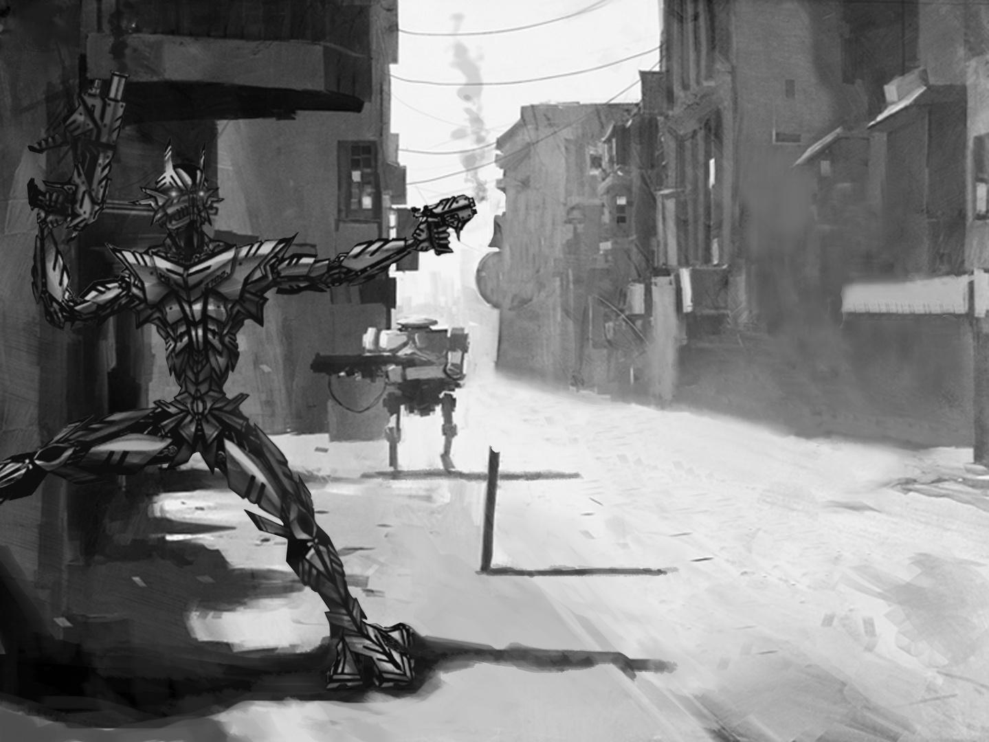 Robotito en guerra
