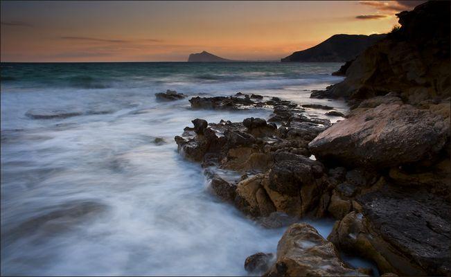 rocas del mar