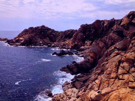 Rocce sul mare