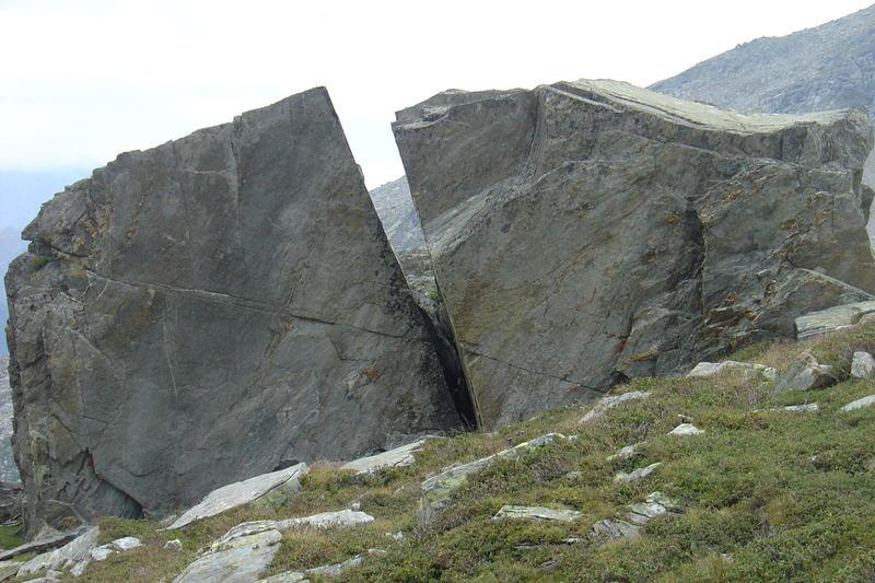 Roccia sopra capanna Quarnei