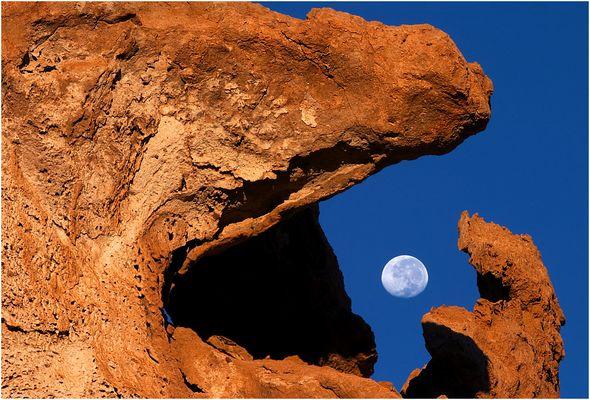 Rock eats moon