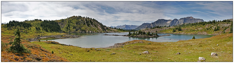 Rock Isle Lake Panorama
