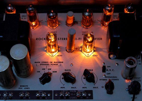 Rock Ola Stereo Hi-Fi Amplifier
