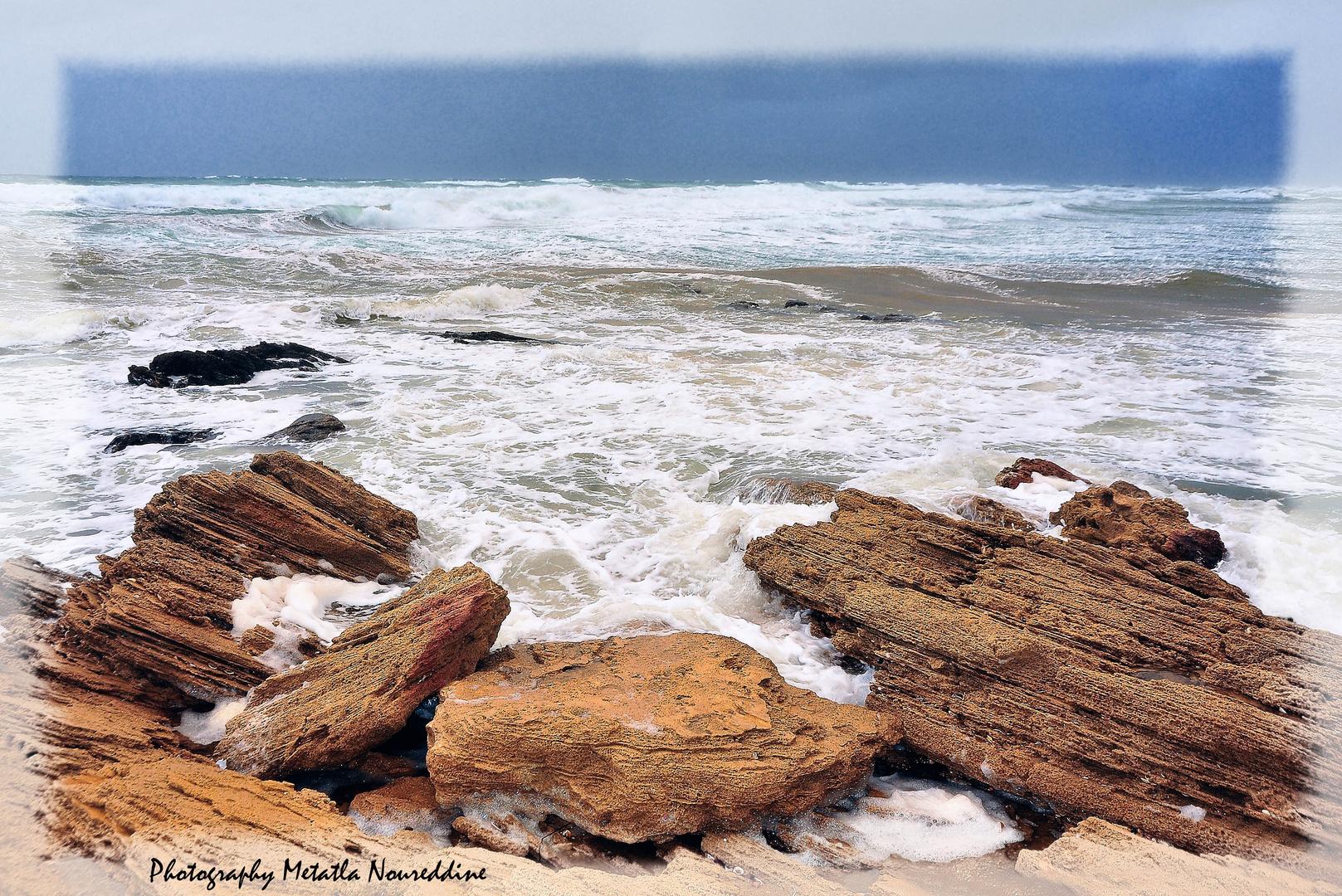rock sand