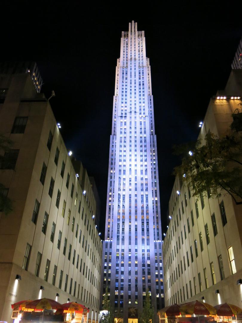 Rockefeller Center By Night
