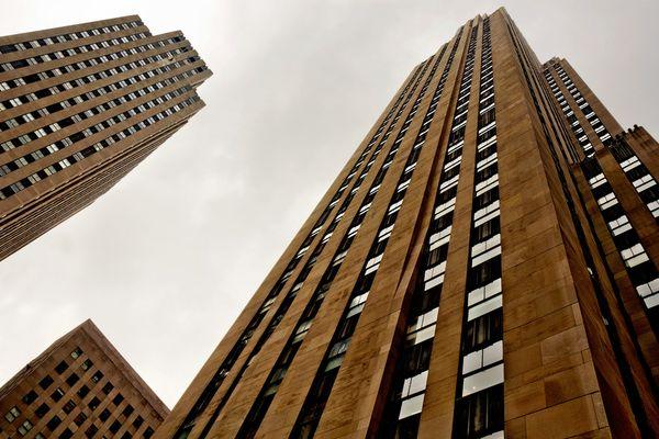 Rockefeller Center in Manhattan - New York City