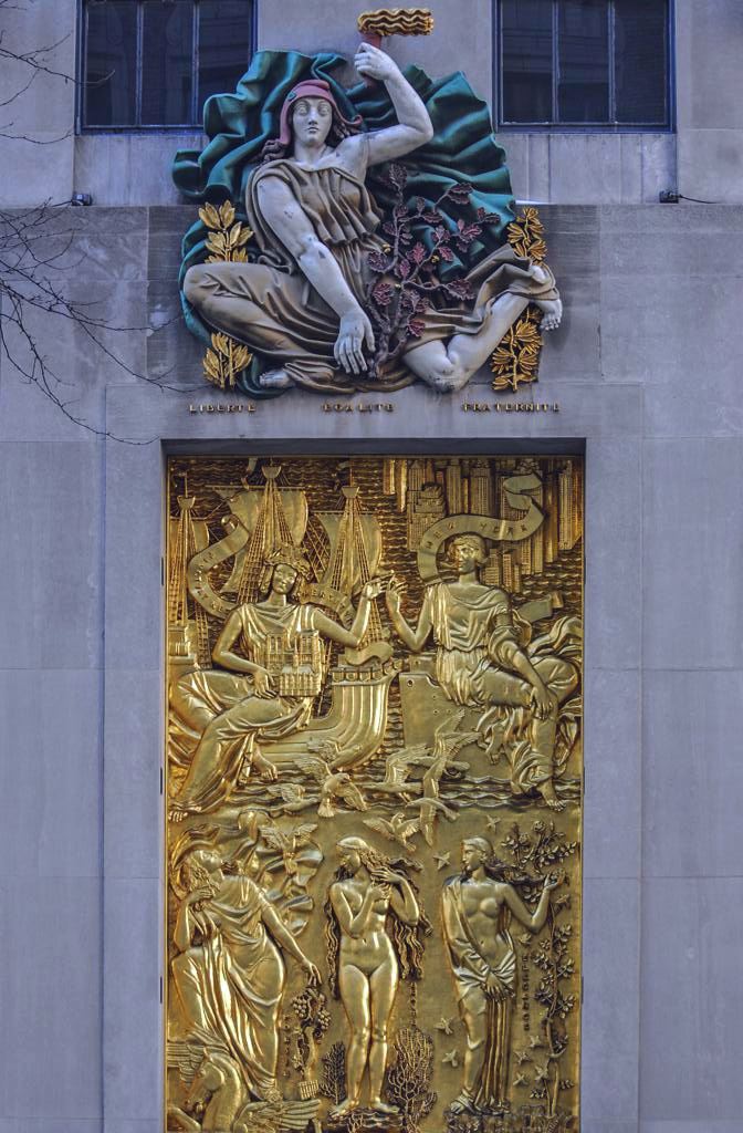 Rockefeller Plaza 2