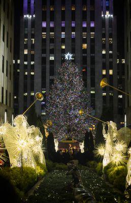 Rockefellercenter Weihnachtsbaum