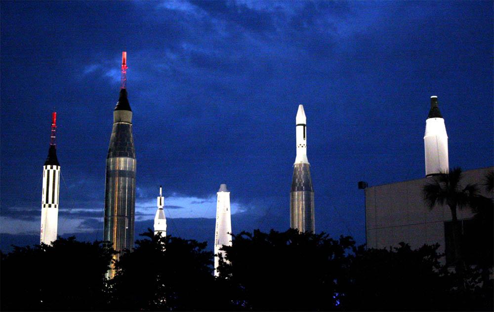 Rocket Garden zum Abschied