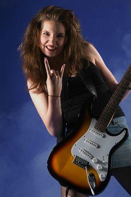 Rockgöre Sarah-Liv