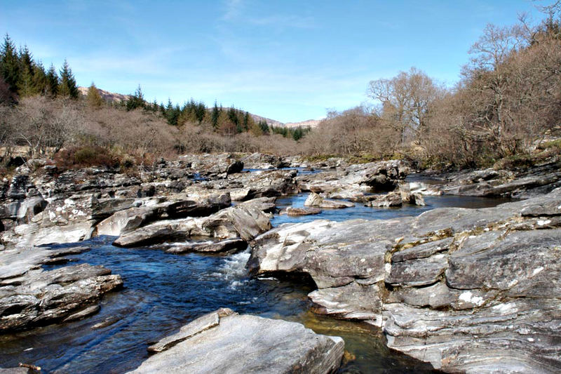 Rocks in the River Orchy