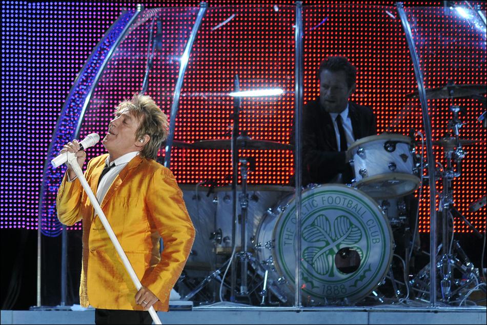 Rod Stewart in der O2-World-Arena Berlin