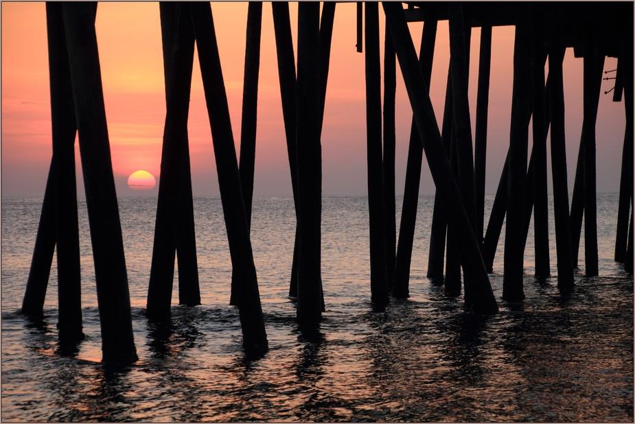 Rodanthe Pier sunrise 02